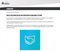EUKLES Solutions s'agrandit via une opération de croissance externe.