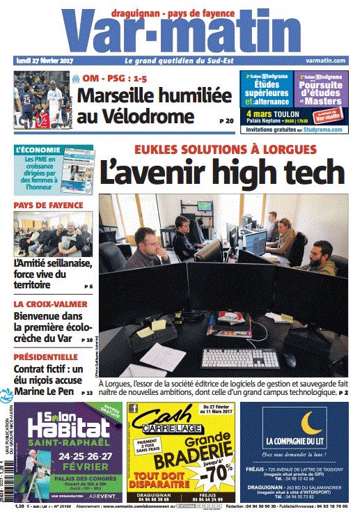 Var matin - Couverture,page2,page 3
