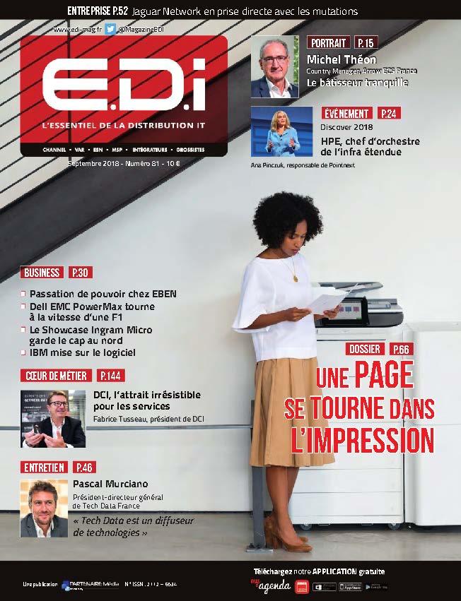 EDI n°81 - Septembre 2018 - Dossier GED Sécurité des documents