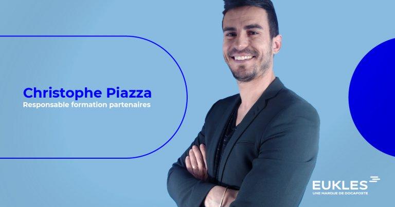 Rencontrez Christophe Piazza, Responsable formation partenaires